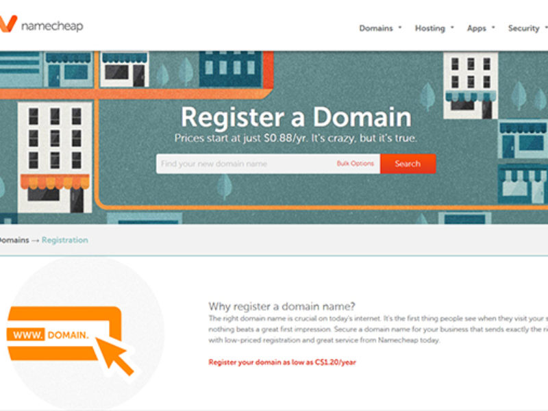 NameCheap Best Domain Registrar